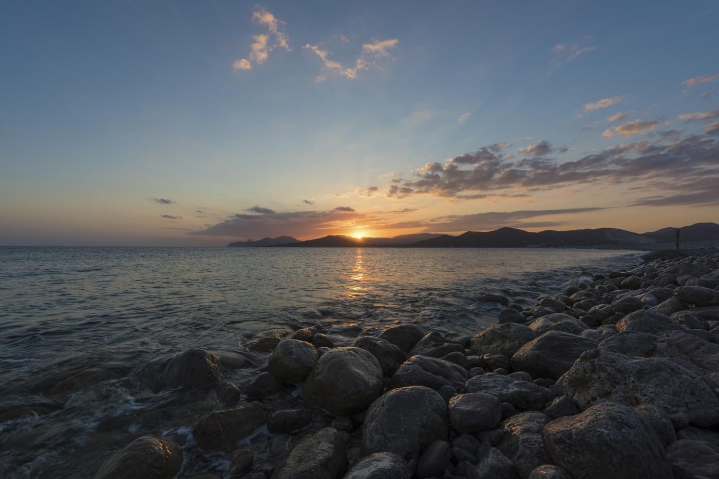 Balear sunset
