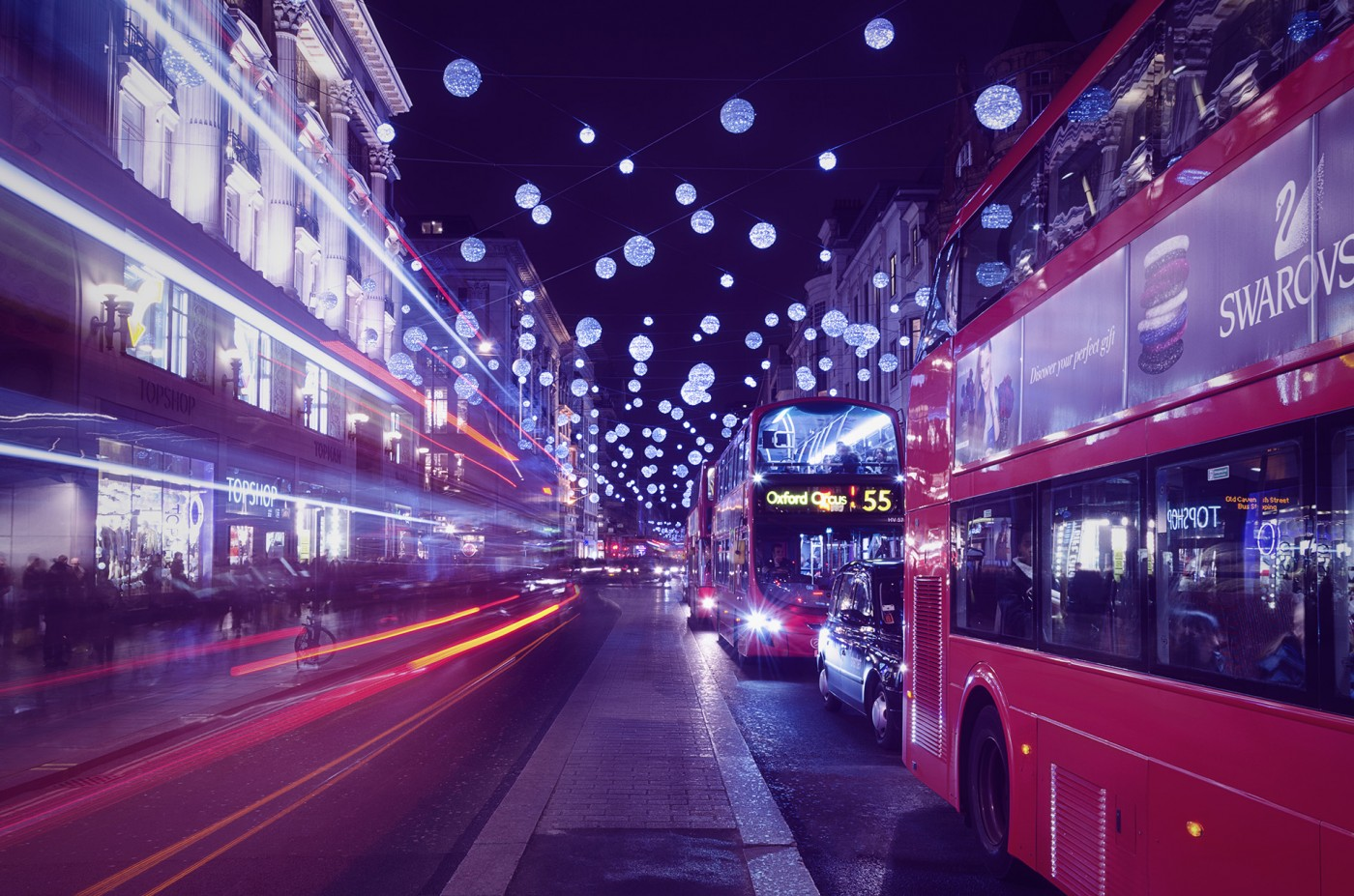 Christmas at Oxford Street