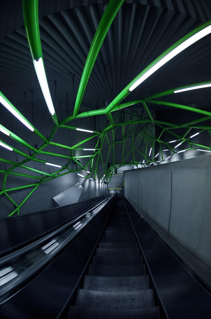 Iidabashi Subway Station