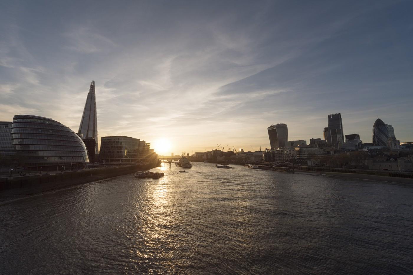 London Golden hour