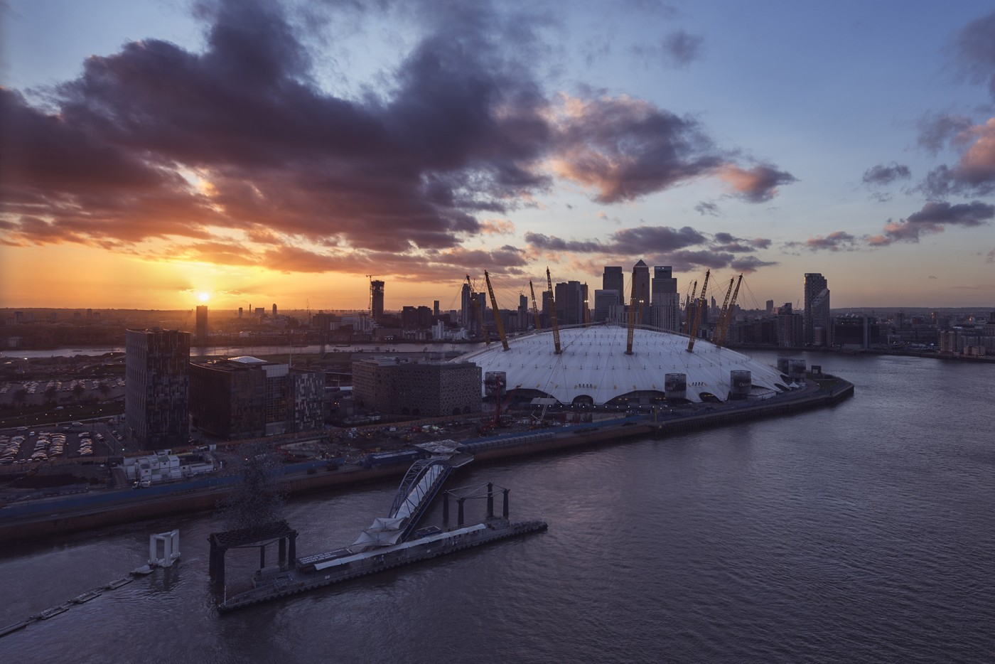 South London sunset