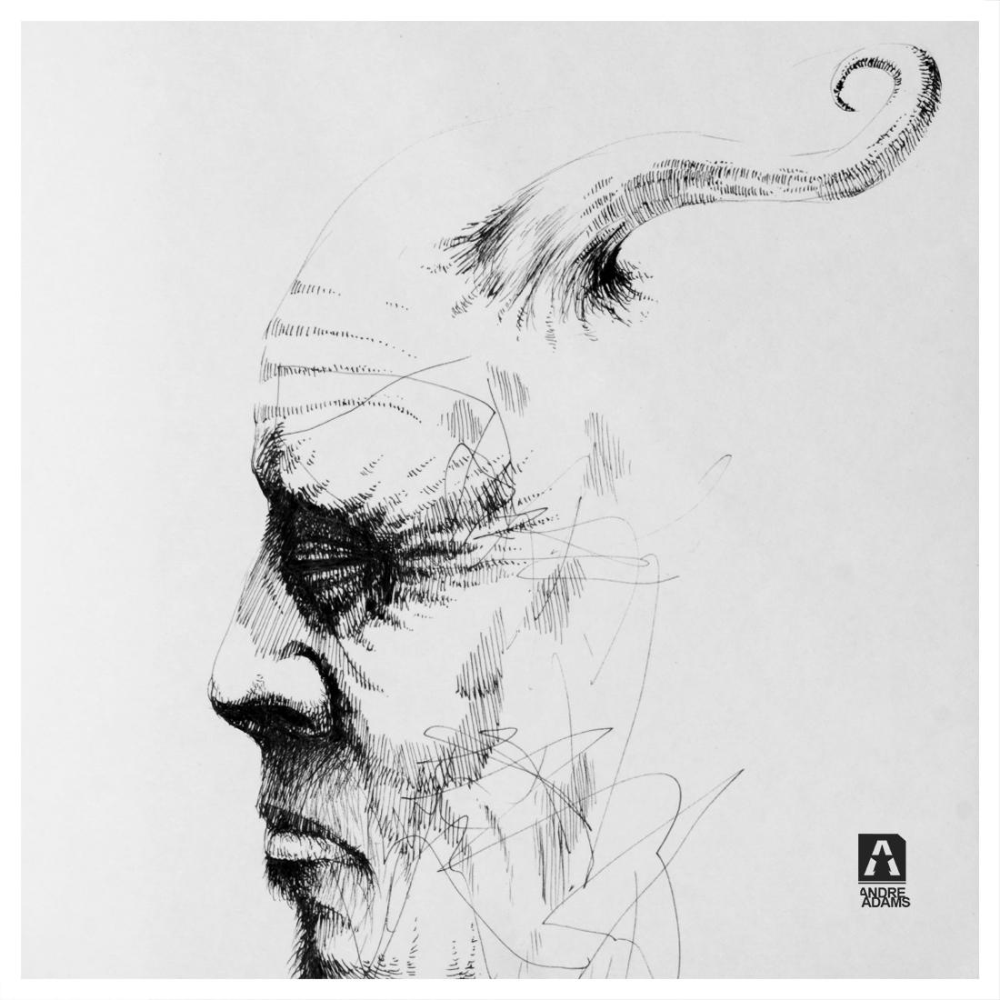 The Man who grew a horn