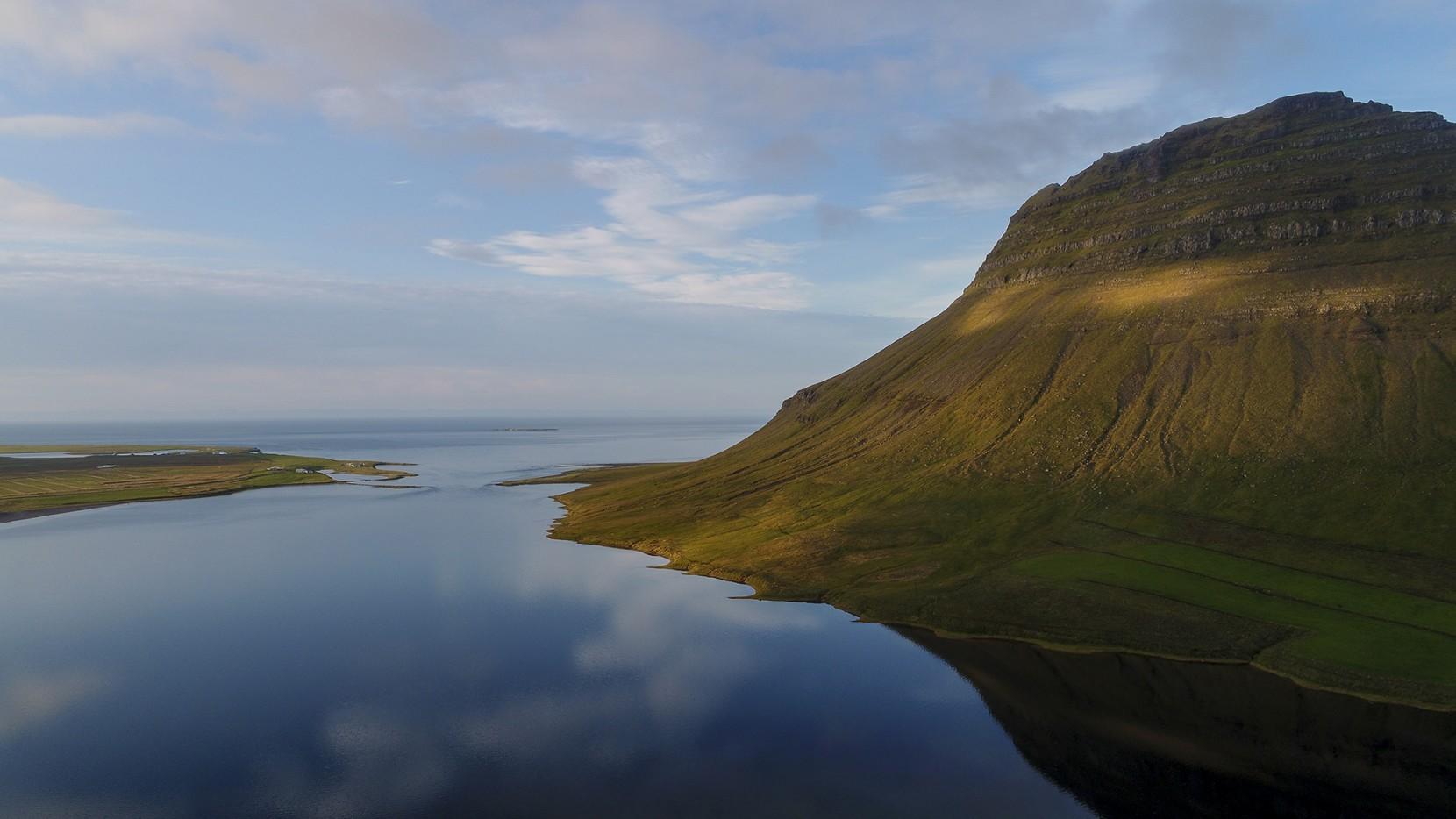 Icelandic summer evening
