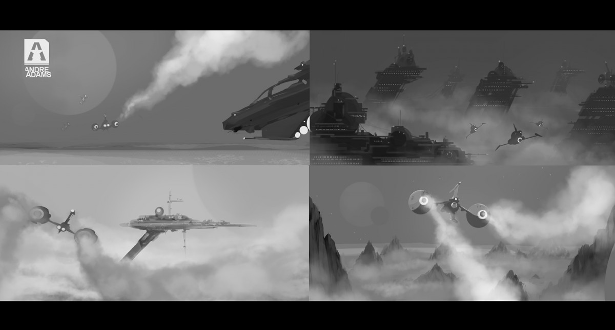 Space sketches
