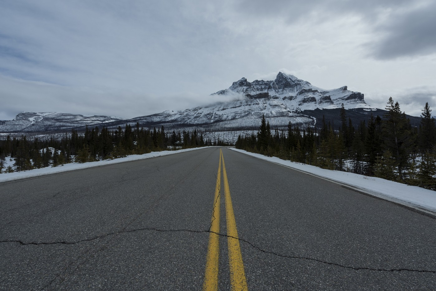 Icefield Parkway Rocky Mountains