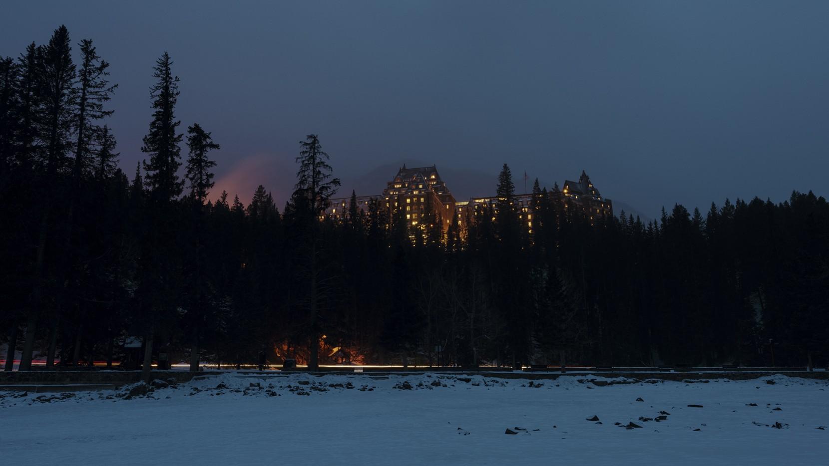 Night at Banff Springs
