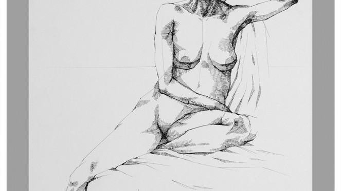 LifeDrawing XVlll
